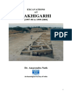 Rakhigarhi Excavation Report 1997 - 2000 (Draft, 31 Dec. 2014 by Dr. Amarendra Nath, Archaeologist)