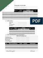 Buku Inventaris Dan Kartu Inventaris