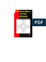 Clave Mayor de Salomon