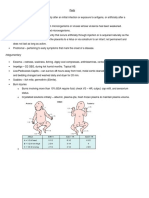 Pediatrics Study Guide
