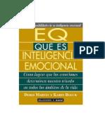 Martin Doris Y Boeck Karin - Eq - Que Es La Inteligencia Emocional