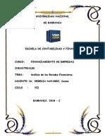 Analisis Eeff - Ratios. Formula