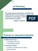 1 1 International Marketing Overview