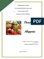 Trabajo Singular Técnica de Muppets