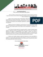 Comité Central del MIR - Ante El Triunfo de Andrés Manuel López Obrador - 03jul2018