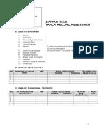 Track Record Assessment.doc