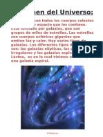 PEQUEÑO RESUMEN DEL UNIVERSO Y EL SISTEMA SOLAR JAVI RODRÍGUEZ 6º B
