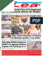 Periódico Lea Jueves 05 de Julio Del 2018