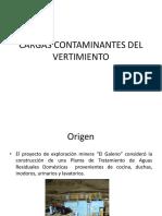 Cargas Contaminantes Del Vertimiento