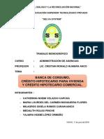 Presentación Carátula - Banca de Consumo
