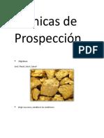 Técnicas de ProspecciÓn