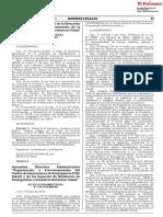 SALUD RESOLUCION MINISTERIAL N° 628-2018/MINSA
