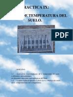 PRACTICA IX Analisis Temperatura Del Suelo