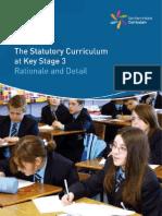 Statutory Curriculum Ks3