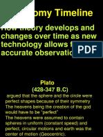 Astronomy Timeline HELPFUL