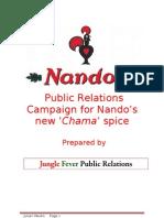 Julian Obubo- Nando's PR Campaign