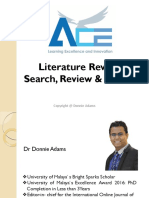 ACE Lit Review