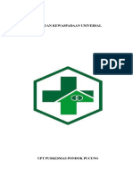 PANDUAN KEWASPADAAN UNIVERSAL PUSKESMAS PONDOK PUCUNG.docx