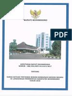 Keputusan Bupati Bojonegoro Tentang Harga Satuan Tertinggi Bidang Bangunan Gedung Negara Di Lingkungan Pemerintah Kabupaten Bojonegoro Tahun 2018