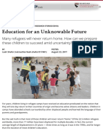 Education for an Unknowable Future | Harvard Graduate School of Education