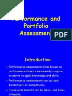 Performance Assessment S1