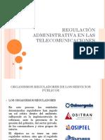 Regulación Administrativa en Las Telecomunicaciones. Iyo