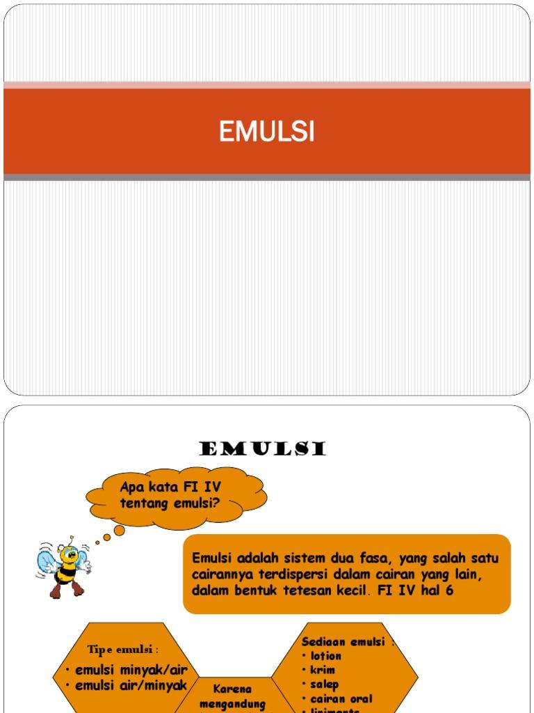 Emulsi