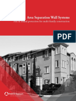 PABCO Gypsum Area Separation Wall Systems