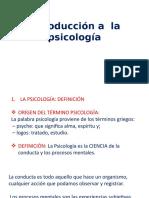 Origen de La Psicología