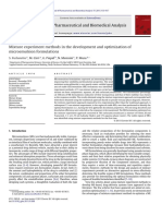 Mixture Experiment Methods in the Development and Optimization of Microemulsion Formulations.