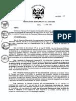 Clasific. aguas Perú. R.J. N° 202-2010-ANA