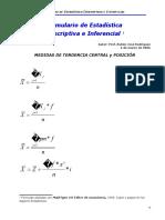 Formulario de Estadistica Descriptiva e Inferencial Ruben Jose Rodriguez