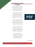 Poesía a la Bandera Nacional
