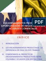 Colombia Encadenamientos Productivos - Caso de Chile