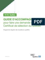 Guide Vivre Au Quebec