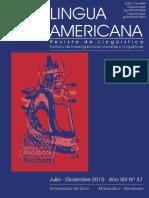 artículo profesor A Franco. las funciones semánticas en la estructura argumental de la oración