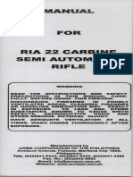 Manual for Rock Island Armory / Armscor .22 Carbine Semi Automatic Rifle M20C
