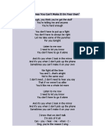 U2 Lyric