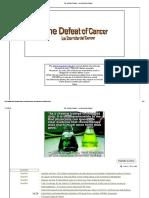 The Defeat of Cancer - La Derrota Del Cáncer