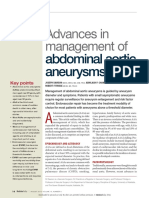 Advances in Mgt of Abdominal Aortic Aneurysms