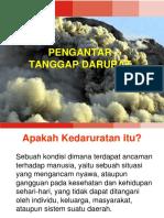 04 Pengantar Tanggap Darurat Bencana