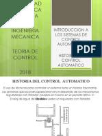 Historia Del Control Automatico