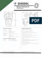 8V92TA DDEC Commercial Marine
