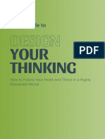 Design Your Thinking Manifesto - Storytelling, Creators, Lifelong Learning