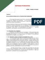 08 - Defensa Posesoria - Anibal Torres Vasquez
