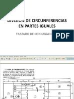 Division de Circunferencias en Partes Iguales Dac 2011
