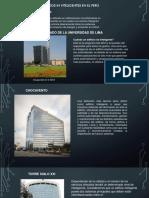 Edificios innteligentes en El Perú