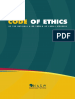 2018 NASW Code of Ethics