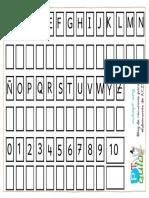 Ficha Grafo Mayusculas y Números