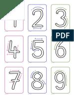 Números Hasta El 10 Direccionalidad